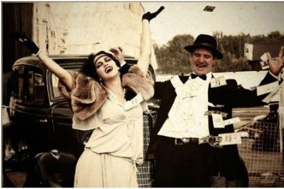 Выкуп невесты в стиле Чикаго