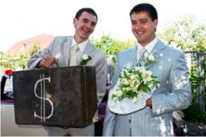 Выкуп невесты в стиле железнодорожника