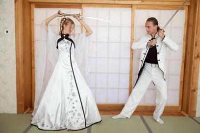 Японские свадебные платья