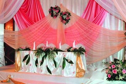 Задник на свадьбу 🥗 украшение свадебного фона, фото