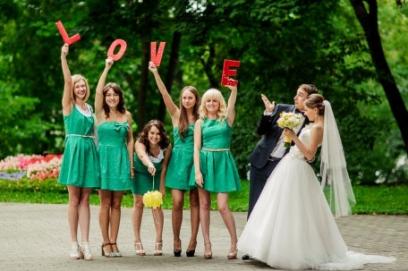 Сценарий зеленой свадьбы