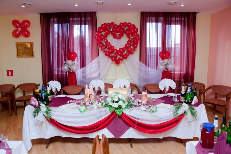 Оформление зала на свадьбу: 100 фото с идеями украшения