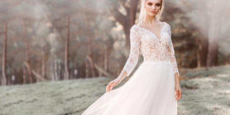 Необычные платья на свадьбу: 100 красивых и стильных фото современных фасонов