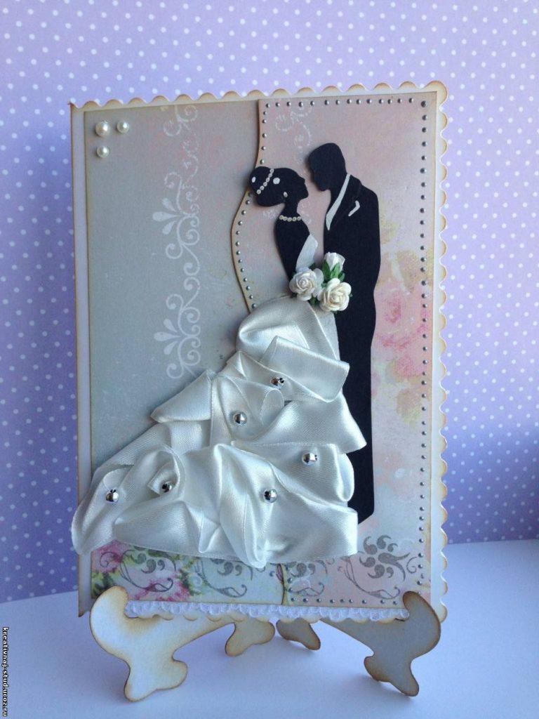 Красивая открытка к свадьбе своими руками, красивые