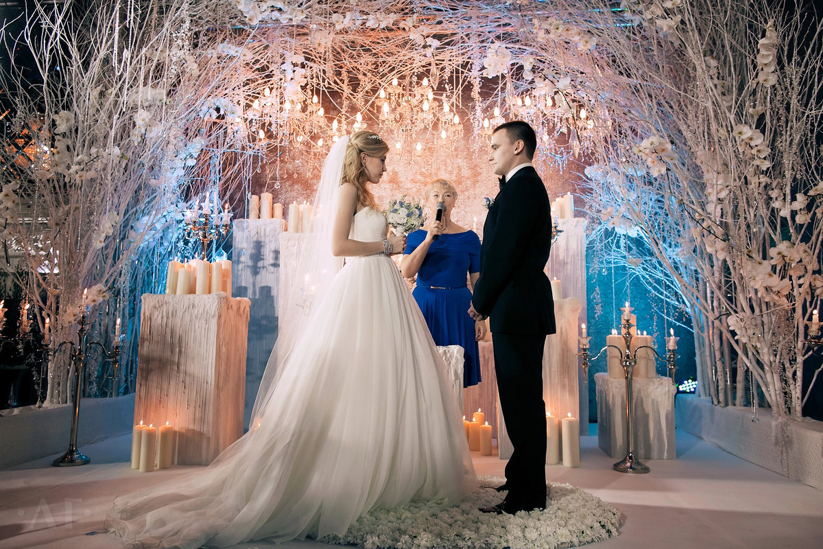 12 смелых и оригинальных идей оформления свадебной церемонии