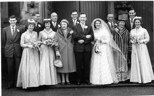 Оригинальная свадьба в Голливуде 30-х годов