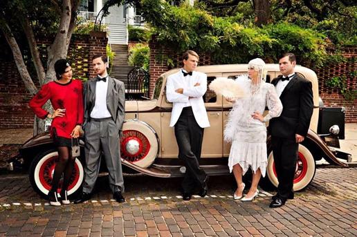 Оригинальная свадьба стиляг 60-х годов