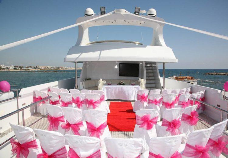Сколько стоит свадьба на яхте в Сочи и от чего зависит цена