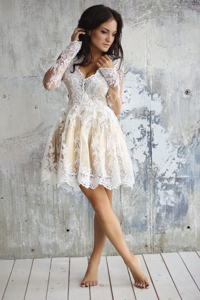 Средние цены на новые и арендные свадебные платья в салонах и у частных лиц
